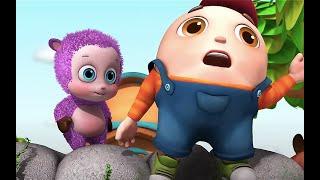 Humpty Dumpty Sat on a Wall | wheels on the bus | Jugnu kids Nursery Rhymes & kids Songs