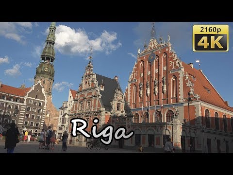 Riga, Center - Latvia 4K Travel Channel