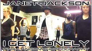 "Video Janet Jackson ""I Get Lonely"" Choreography by Tina Landon download MP3, 3GP, MP4, WEBM, AVI, FLV Juni 2017"