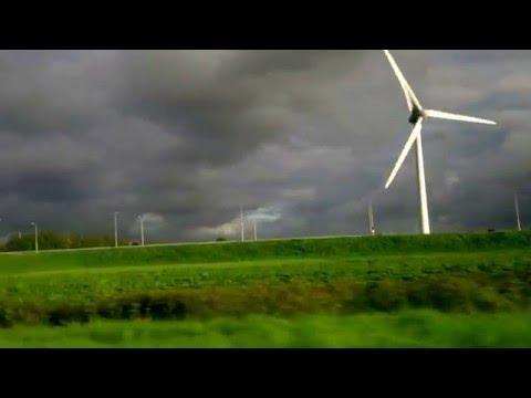 wind energy field in holland