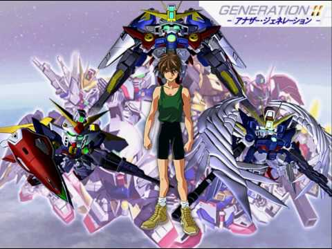 Sd gundam g generation wars new mobile report gundam wing for Domon vs heero
