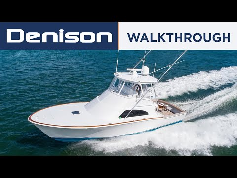 Custom Sportfish 45 Liberty Yacht [Walkthrough]
