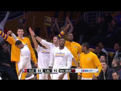 Cleveland Cavaliers at Los Angeles Lakers- March 19, 2017