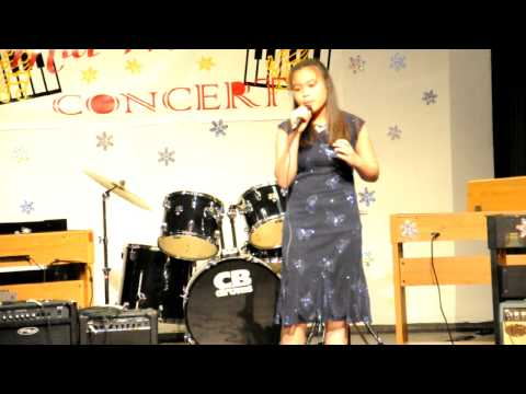 12 years old Clio singing I have Nothing at Ontario Conservatory of Music 2009 mini concert
