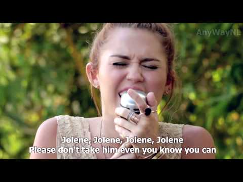 Miley Cyrus - Jolene (Backyard Session) HD | LYRICS IN VIDEO!