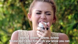 Miley Cyrus Jolene Backyard Session HD LYRICS IN.mp3
