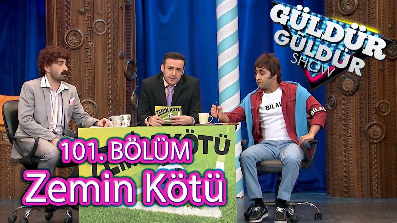 Güldür Güldür Show 101 Bölüm Zemin Kötü Programı Skeci Youtube