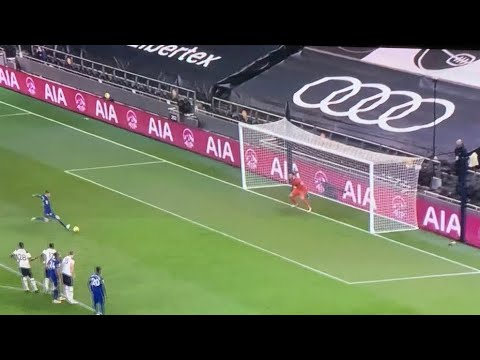 JORGINHO PENALTY GOAL vs Tottenham 0-1 Chelsea!!