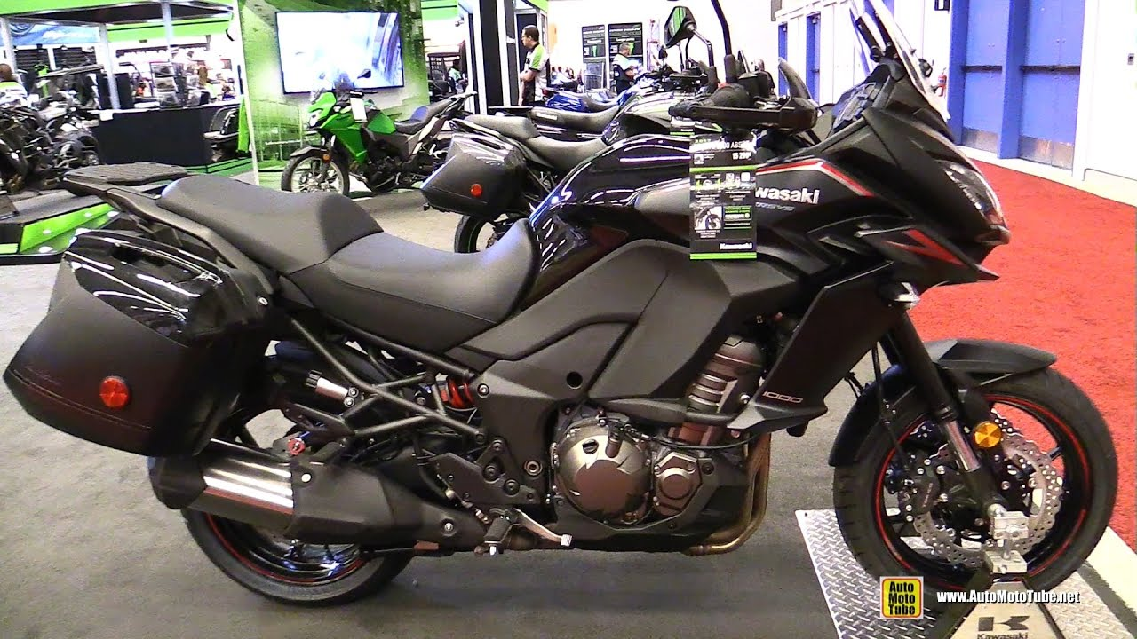 2017 kawasaki versys 1000 lt walkaround 2017 montreal motorcycle show youtube. Black Bedroom Furniture Sets. Home Design Ideas
