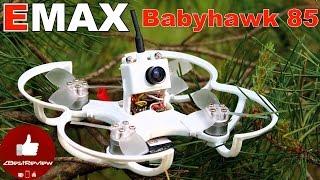 ✔ Квадрокоптер EMAX Babyhawk 85мм. Unboxing and Test. Gearbest!