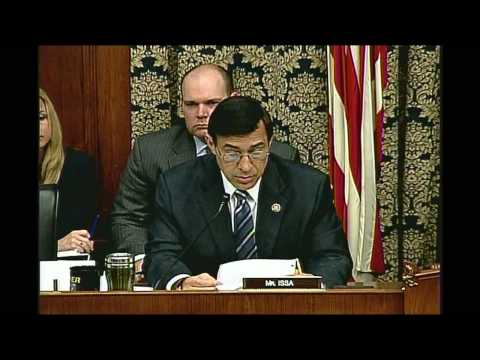 Issa MMS/Oil Spill Oversight Hearing Opening Statement