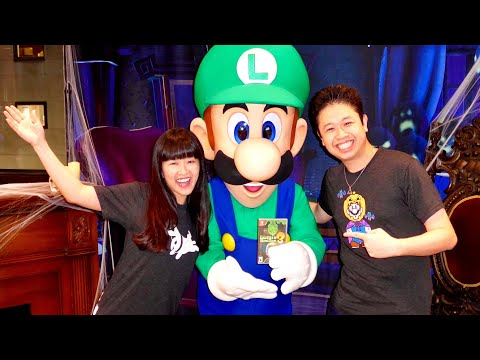 Luigi's Mansion 3 Launch Event At Nintendo NY Store