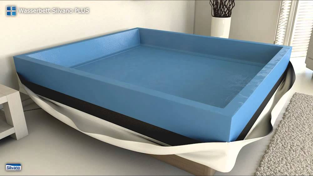 aufbau wasserbett silvano plus youtube. Black Bedroom Furniture Sets. Home Design Ideas