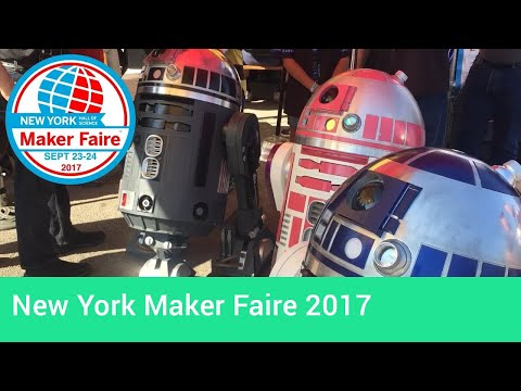 New York Maker Faire 2017 Electronic Hardware Highlights