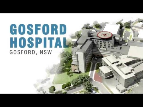 Gosford Hospital transforms in redevelopment