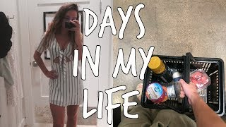 summer vlog: work, weekend in my life, shopping for vaca, grocery hauls