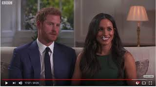 Face body reading: Prince Harry and Meghan Markle