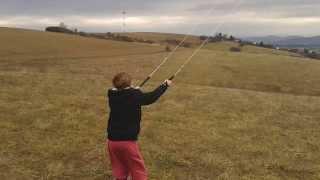 power kite start