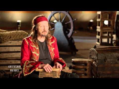 CHRISTOPHER WALKEN TALKS PETER PAN, CAPTAIN HOOK, LIVE TV