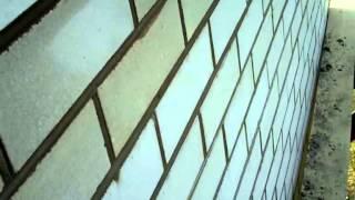 расшивка кирпичной кладки с силикатного кирпича(здесь вы увидите как расшить кирпичную кладку., 2013-10-24T09:01:09.000Z)