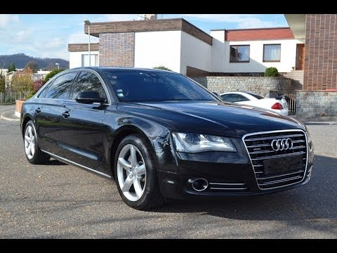 audi a8 3 0 tdi lang quattro tiptronic youtube. Black Bedroom Furniture Sets. Home Design Ideas