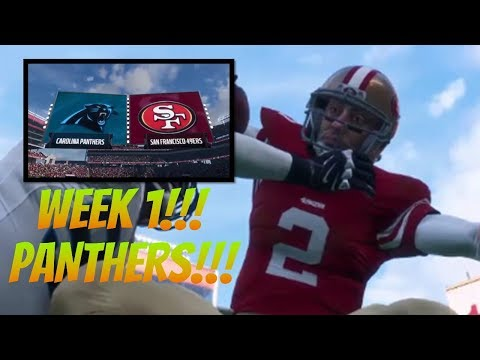 WEEK 1 STARTS!!! - Madden 18 49ers Franchise [W1, S1] - Ep. 1 - Ep. 6