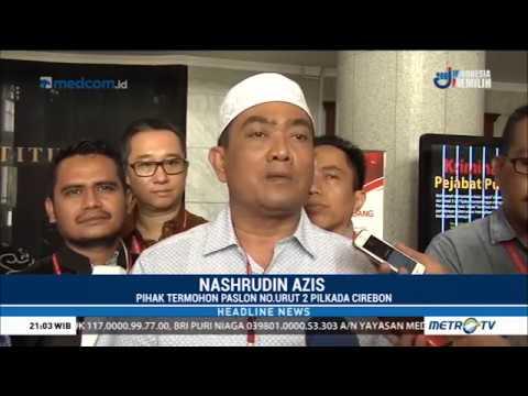 MK Tolak Gugatan Bamunas-Edo Soal PSU Pilwalkot Cirebon