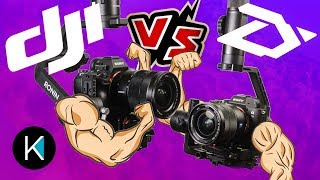 DJI Ronin-S VS. Zhiyun Crane 2! EPIC SHOWDOWN! (featuring Zach Mayfield)