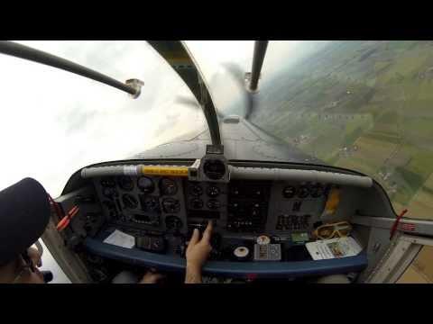 Pilatus Porter PC6T - Startup, takeoff and landing.