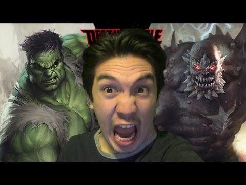 Hulk VS Doomsday Death Battle Reaction!!! - YouTube Doomsday Vs Hulk Death Battle Reaction