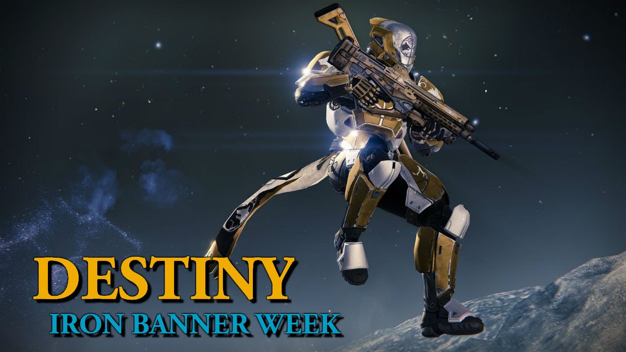 Destiny Iron Banner Week Mida Multi Tool Crucible Play Level 28 Warlock
