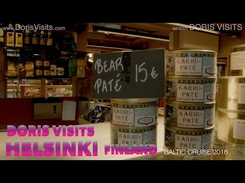 Helsinki In Finland. Jean For Doris Visits On Baltic Cruise.