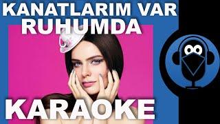 KANATLARIM VAR RUHUMDA - NİL KARAİBRAHİMGİL  ( Karaoke )  / Sözleri / Lyrics /  COVER