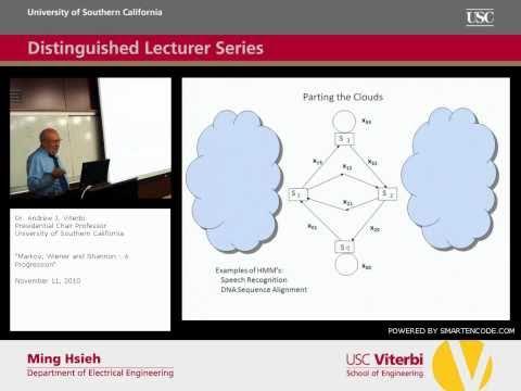 EE Distinguished Lecturer Series: 11/11/10 - Dr. Andrew J. Viterbi