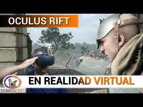 BATTLEFIELD 1 MI PRIMERA PARTIDA EN VR 35 KILLS - OCULUS RIFT