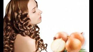 Луковая шелуха для красоты и густоты волос/лечение выпадения волос, перхоти