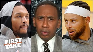 Damian Lillard 'ain't no Steph Curry' - Stephen A. | First Take