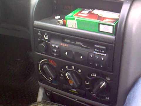 Blaupunkt - SC202 Opel Astra F - YouTube