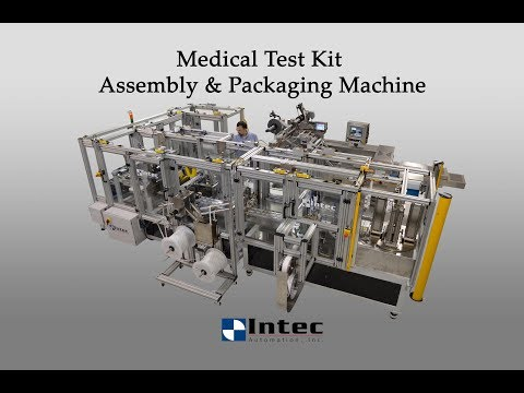 Medical Device Kit Assembly & Packaging Machine