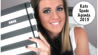 Kate Spade 2015 Agenda Unboxing And Review