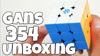 Gans 354 M Unboxing | Better Than The SM?