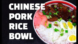 Pork Rice Bowl - Chinese Pork - Chinese Pork Youtube - Braised Pork