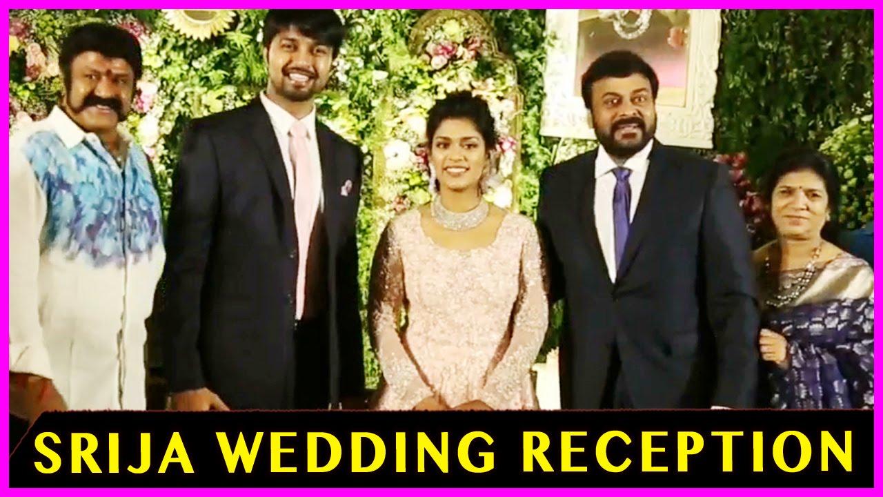 b75f2617df23 Balakrishna   Sreeja - Kalyan Wedding Reception - Chiranjeevi ...