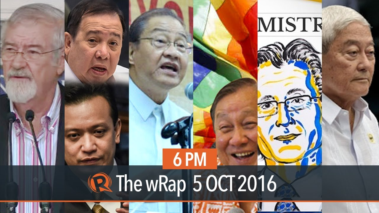 Businessmen for Duterte, Dick Gordon, Nobel Prize | 6PM wRap