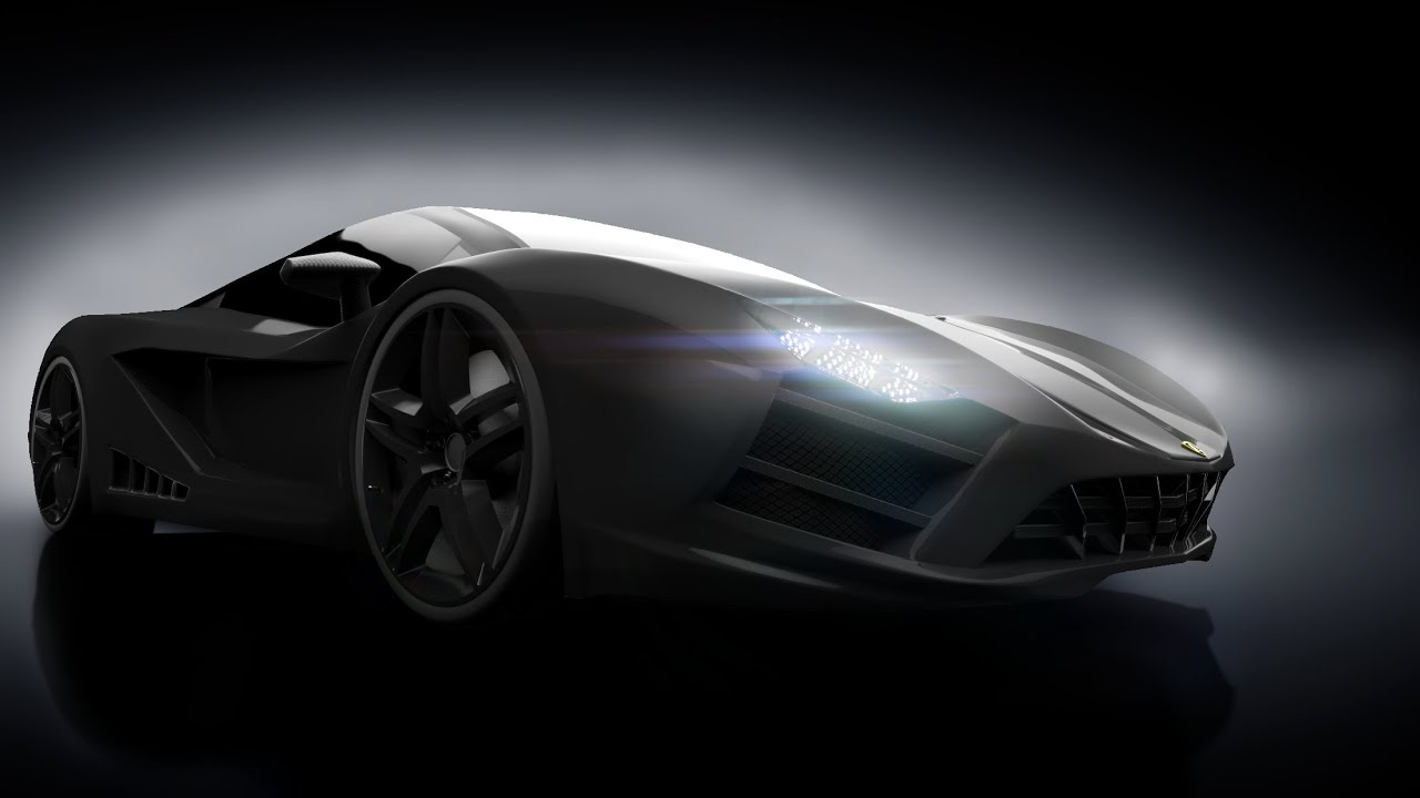 2017 LAMBORGHINI NERO CONCEPT CAR   YouTube