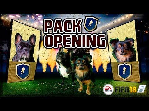 PACK OPENING COM AS MINHAS CADELAS   FIFA UT18   Ultimate Team 18