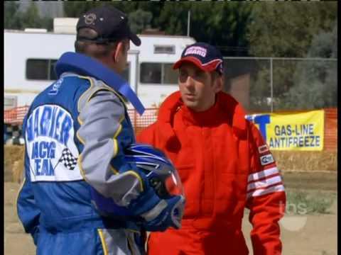 Greg Biffle Races Lawn Mower On TV's Yes Dear