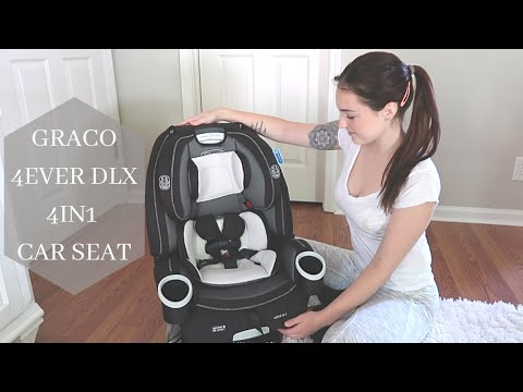 GRACO 4EVER DLX CAR SEAT Unboxing - Installation - Review