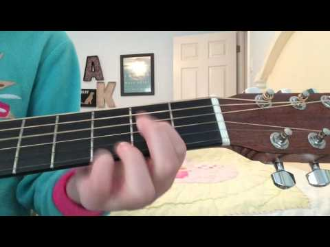 Cold Water: Guitar chords And Cover