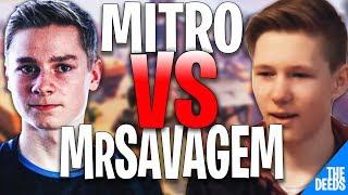 Atlantis Mitr0 1 VS 1 NRG MrSavageM In Fortnite World Cup - Fortnite Highlights
